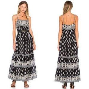 (JOIE) Boho Knightly Silk Blend Maxi Dress